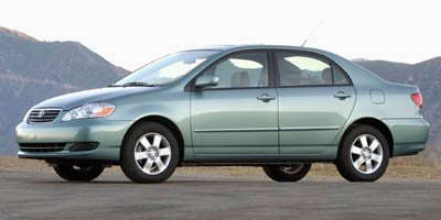 2006 Toyota Corolla CE Front Wheel Drive Tires - Front All-Season Tires - Rear All-Season Tempor