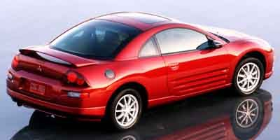 2001 Mitsubishi Eclipse GS Color-keyed bumpers  Color-keyed rear spoiler  Color-keyed door handle