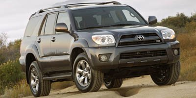 2006 Toyota 4Runner SR5 Rear Wheel Drive Traction Control Stability Control Tires - Front OnOff