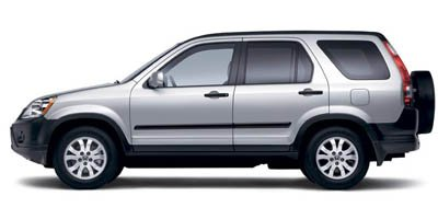 2006 Honda CR-V EX Traction Control Stability Control Four Wheel Drive Tires - Front All-Season