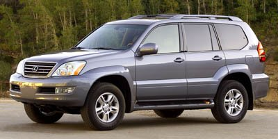 2006 Lexus GX 470 4WD Traction Control Stability Control Four Wheel Drive Air Suspension Active
