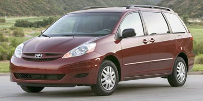 2006 Toyota Sienna LE Minivan 4D Front Wheel Drive Tires - Front All-Season Tires - Rear All-Seas
