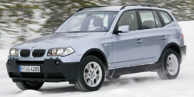 2006 BMW X3 30i 5-SPEED AUTOMATIC TRANSMISSION  -inc steptronic shift control HEATED FRONT SEATS