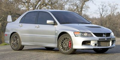 2006 Mitsubishi Lancer Evolution IX 17 x 8 ENKEI Cast Aluminum Alloy WheelsCustomized RECARO Fro