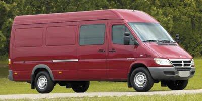 2006 Dodge Sprinter VAN 3500 140WB Turbocharged Traction Control Rear Wheel Drive Dual Rear Whee