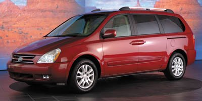 2006 Kia Sedona EX Traction Control Stability Control Brake Assist Front Wheel Drive Tires - Fr