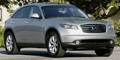 2006 Infiniti FX35  Traction Control Stability Control All Wheel Drive Tires - Front All-Season