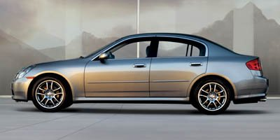 2006 Infiniti G35 Sedan 4DR SDN AWD AT Traction Control Stability Control All Wheel Drive Tires