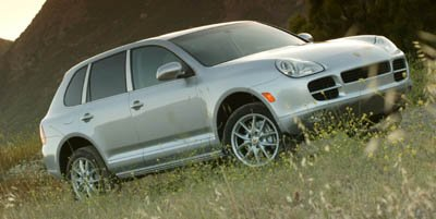 2006 Porsche Cayenne S Tiptronic All Wheel Drive Traction Control Stability Control Tires - Fron