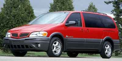 2001 Pontiac Montana w1SE Pkg Traction Control Front Wheel Drive Tires - Front All-Season Tires