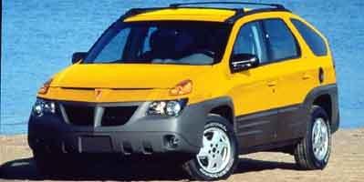 2001 Pontiac Aztek  All Wheel Drive Tires - Front All-Season Tires - Rear All-Season Temporary S