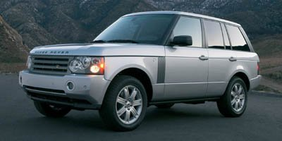 2007 Land Rover Range Rover HSE Traction Control Four Wheel Drive Tow Hitch Air Suspension Tire