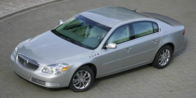 2007 Buick Lucerne V6 CXL Traction Control Front Wheel Drive Air Suspension Tires - Front Perfor