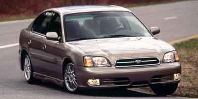2001 Subaru Legacy Sedan GT Ltd