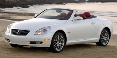 2007 Lexus SC 430  Traction Control Stability Control Rear Wheel Drive Tires - Front Performance
