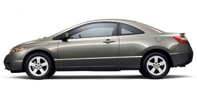 Used 2007 Honda Civic Coupe in Greenwood, IN