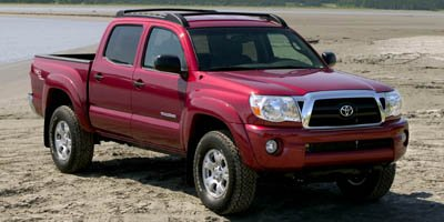 2007 Toyota Tacoma 4WD Double 128 V6 AT Four Wheel Drive Tires - Front OnOff Road Tires - Rear O