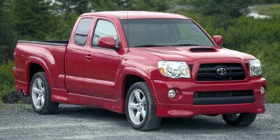 2007 Toyota Tacoma X-Runner LockingLimited Slip Differential Rear Wheel Drive Tires - Front Perf