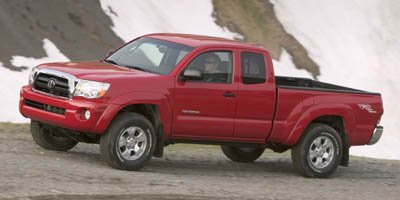 2007 Toyota Tacoma ACC CAB 4WD V6 AT Four Wheel Drive Tires - Front OnOff Road Tires - Rear OnO