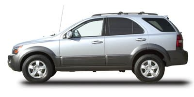 2007 Kia Sorento EX 2-tone bumpers  Roof rack  Solar glass windshield  Rear window intermittent
