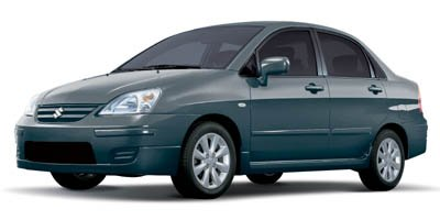 2007 Suzuki Aerio  Front Wheel Drive Tires - Front All-Season Tires - Rear All-Season Temporary