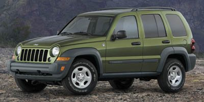 2007 Jeep Liberty Sport Traction Control Stability Control Four Wheel Drive Tires - Front All-Se