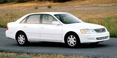 2001 Toyota Avalon XLS w/Bucket Seats