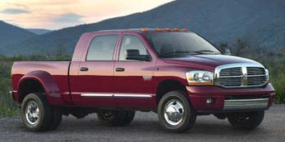 2007 Dodge Ram 3500 Laramie Turbocharged Four Wheel Drive Dual Rear Wheels Tow Hitch Tires - Fr