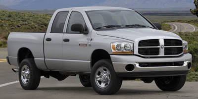 2007 Dodge Ram 3500 SLT Four Wheel Drive Dual Rear Wheels Tires - Front All-Season Tires - Rear