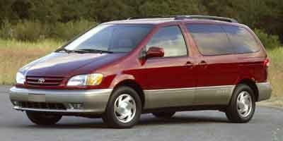 2001 Toyota Sienna  Front Wheel Drive Tires - Front All-Season Tires - Rear All-Season Conventio