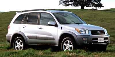 2001 Toyota RAV4 4DR AT 4WD Four Wheel Drive Tow Hooks Tires - Front All-Season Tires - Rear All