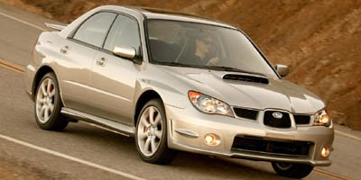 2007 Subaru Impreza Sedan WRX Turbocharged LockingLimited Slip Differential All Wheel Drive Tir