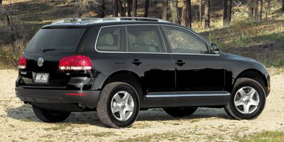2007 Volkswagen Touareg V6 Traction Control Stability Control Four Wheel Drive Tires - Front All