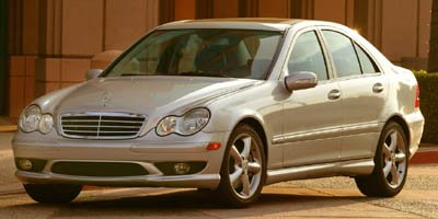 2007 Mercedes C-Class 30L Luxury Traction Control Stability Control All Wheel Drive Tires - Fro