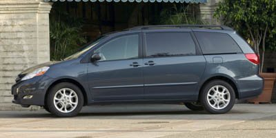 2007 Toyota Sienna CE Front Wheel Drive Tires - Front All-Season Tires - Rear All-Season Tempora
