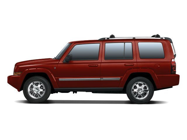 2008 Jeep Commander Limited Four Wheel Drive Traction Control Stability Control Tires - Front Al