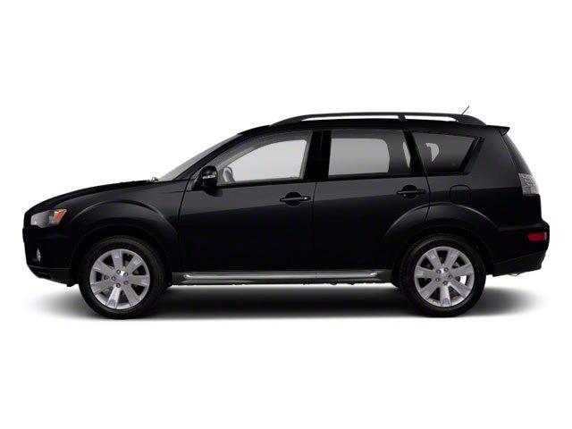2012 Mitsubishi Outlander SE Four Wheel Drive Power Steering Aluminum Wheels Temporary Spare Tir