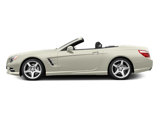 2013 Mercedes SL-Class SL550 BLACK ASH WOOD TRIM DIAMOND WHITE METALLIC PORCELAINBLACK  PREMIUM