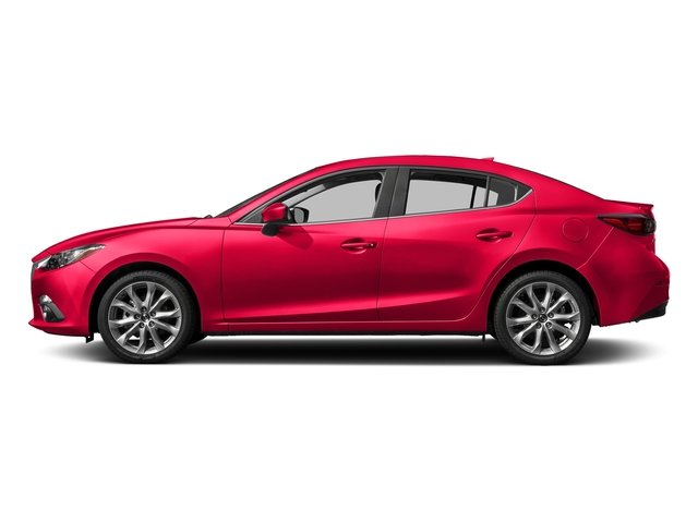 2016 Mazda Mazda3 s Touring SOUL RED METALLIC SOUL RED METALLIC PAINT CHARGE BLACK  LEATHERETTE S