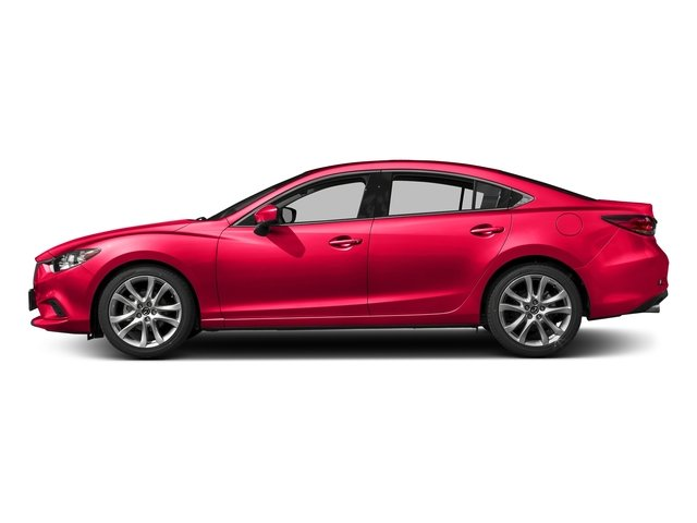2017 Mazda Mazda6 Touring SOUL RED METALLIC PAINT CHARGE BLACK  LEATHERETTE SEAT TRIM SOUL RED ME