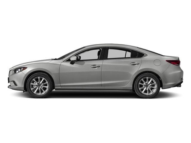 2017 Mazda Mazda6 Sport BLACK  CLOTH SEAT TRIM SONIC SILVER METALLIC Front Wheel Drive Power Ste