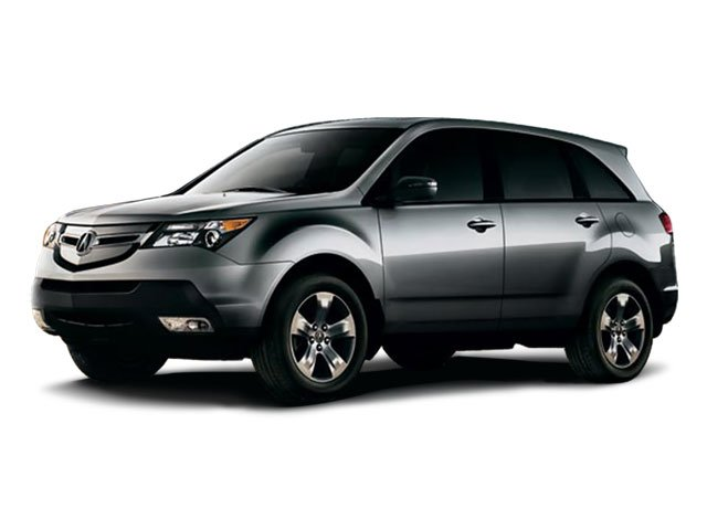 2008 Acura MDX TechEntertainment Pkg Traction Control Stability Control All Wheel Drive Tires -