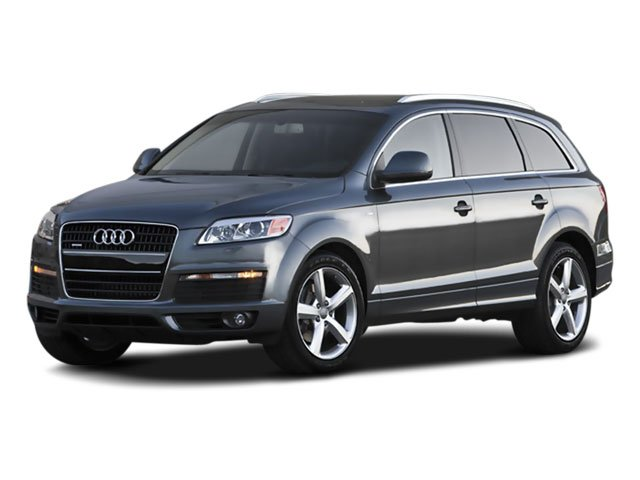 2008 Audi Q7 36L Traction Control Stability Control All Wheel Drive Tow Hitch Tires - Front Pe