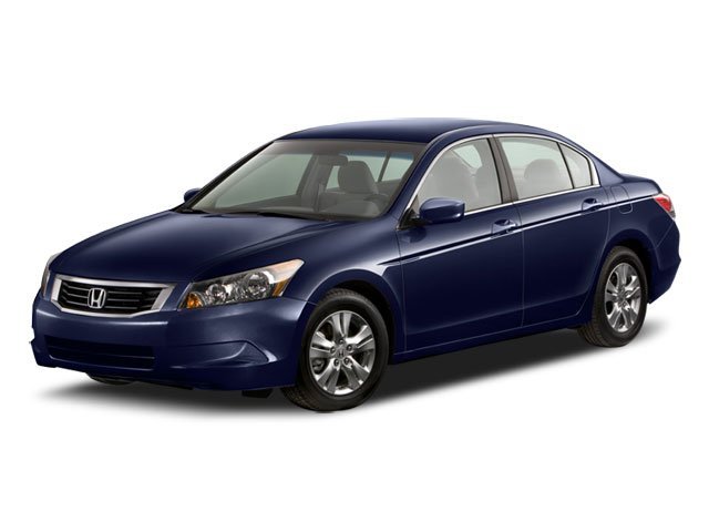 2008 Honda Accord Sdn LX-P Traction Control Stability Control Front Wheel Drive Power Steering