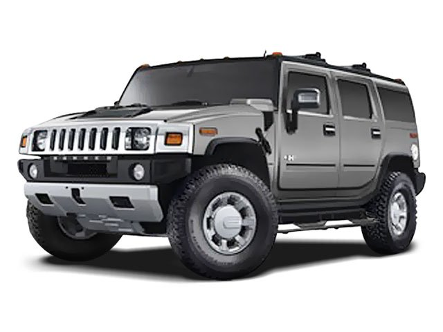 2008 HUMMER H2 SUV Four Wheel Drive LockingLimited Slip Differential Traction Control Stability