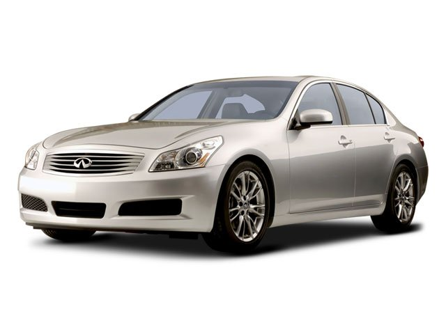 2008 Infiniti G35 Sedan Journey Traction Control Stability Control Rear Wheel Drive Tires - Fron