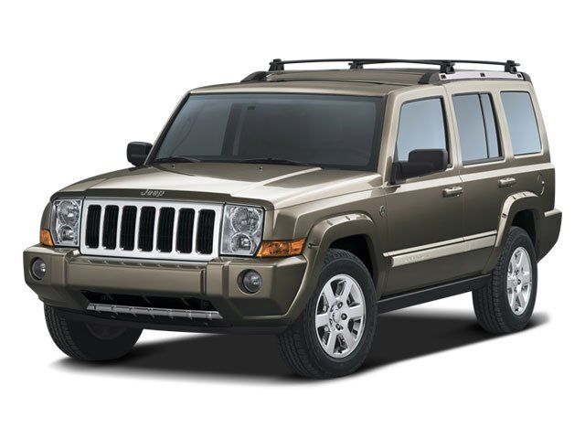 2008 Jeep Commander Sport Four Wheel Drive Traction Control Stability Control Tires - Front All-