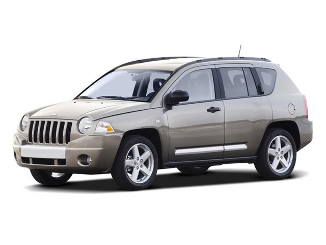 2008 Jeep Compass Limited Traction Control Stability Control Four Wheel Drive Tires - Front Perf