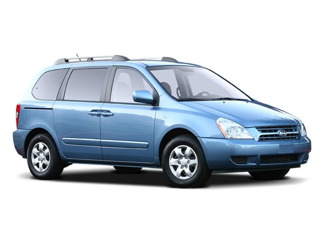 2008 Kia Sedona LX Roof rails  Body-color side moldings  Projection-type headlights  Body-color