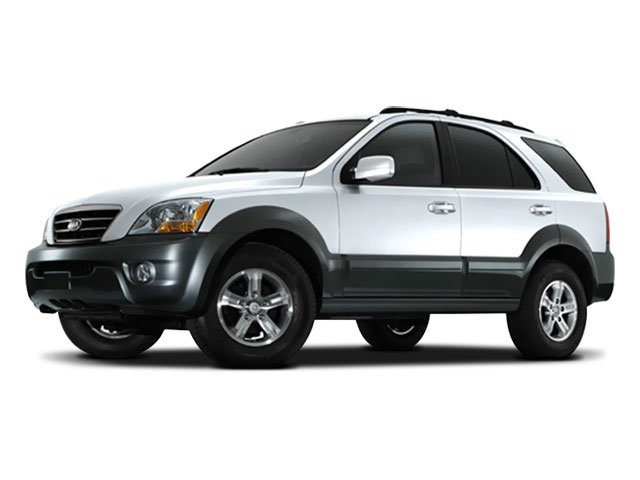 2008 Kia Sorento LX Body-color bumpers  Auto-off projector headlamps  Black heated pwr mirrors